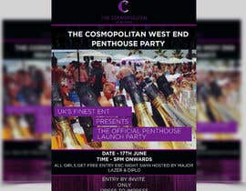 #7 para Design a Flyer for The Cosmopolitan Westend Penthouse Party por ghani1