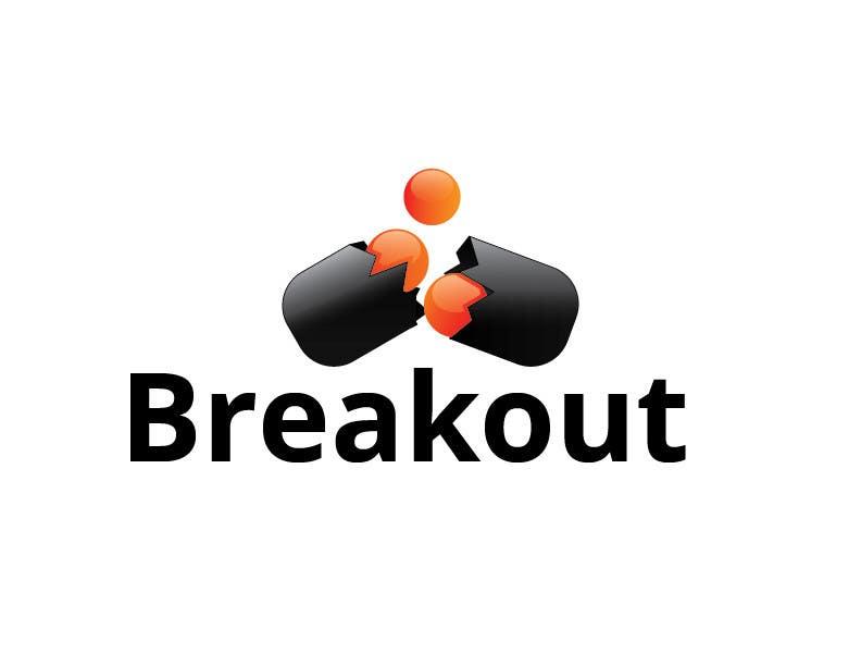 Kilpailutyö #268 kilpailussa Design a Logo for Breakout