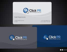 #112 for Business Card Design for Click PR af ulogo