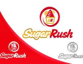 #15 untuk Design a Logo for sugar rush oleh Jevangood