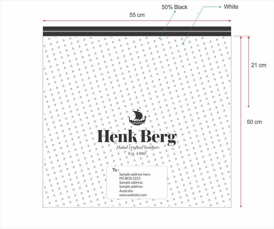 Bài tham dự cuộc thi #15 cho Create Print Design for plastic mailing bag