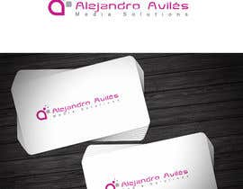 #42 for Design a Logo for Alejandro Avilés Media Solution af grafixsoul