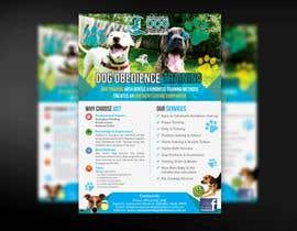 Nro 19 kilpailuun Dog Obedience Flyer Design käyttäjältä mirandalengo