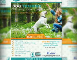 #25 for Dog Obedience Flyer Design by adidoank123