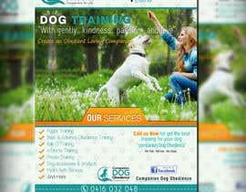 #25 for Dog Obedience Flyer Design af adidoank123