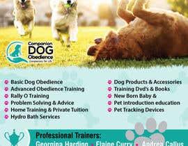 Nro 28 kilpailuun Dog Obedience Flyer Design käyttäjältä batia