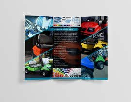 #3 for Finish Designing a three fold brochure for a custom golf cart company by annakhan92