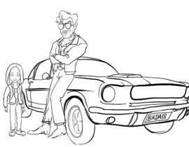 #1 untuk Deuce and Ash Car Pose oleh poontanam
