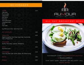 #1 for I need some Graphic Design for restaurant menus and drink menus. by philwalker