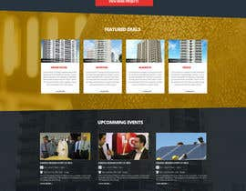 #33 untuk Website Homepage design for a corporate group -- 2 oleh nikil02an