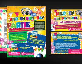 #22 for Design a Flyer for Bowling Center Birthday Marketing af mirandalengo
