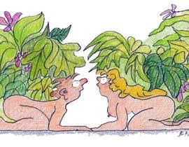 #7 untuk Illustrate a scene from Genesis oleh bennashcartoons