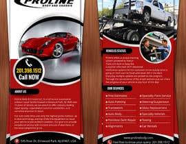 Nro 8 kilpailuun Design a 1 Panel Brochure for Car Business käyttäjältä hello3colors
