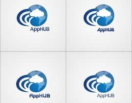 #15 untuk Design an Icon for AppHUB - a technology solution providing high-performance access to multiple cloud solutions oleh shaggyshiva