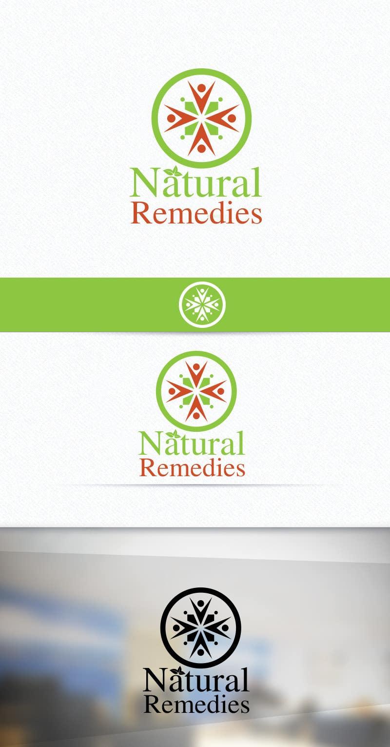 Inscrição nº 61 do Concurso para Design a Logo for Natural Remedies