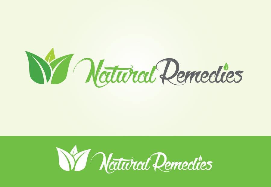 Inscrição nº 16 do Concurso para Design a Logo for Natural Remedies