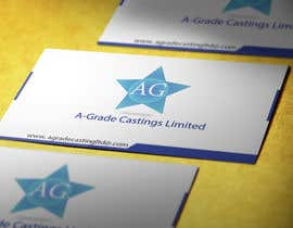 nilufalima tarafından Design some Business Cards for A-Grade Castings Limited için no 15