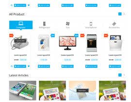 #7 para PrestaShop website redesign por mohamedsalim2015