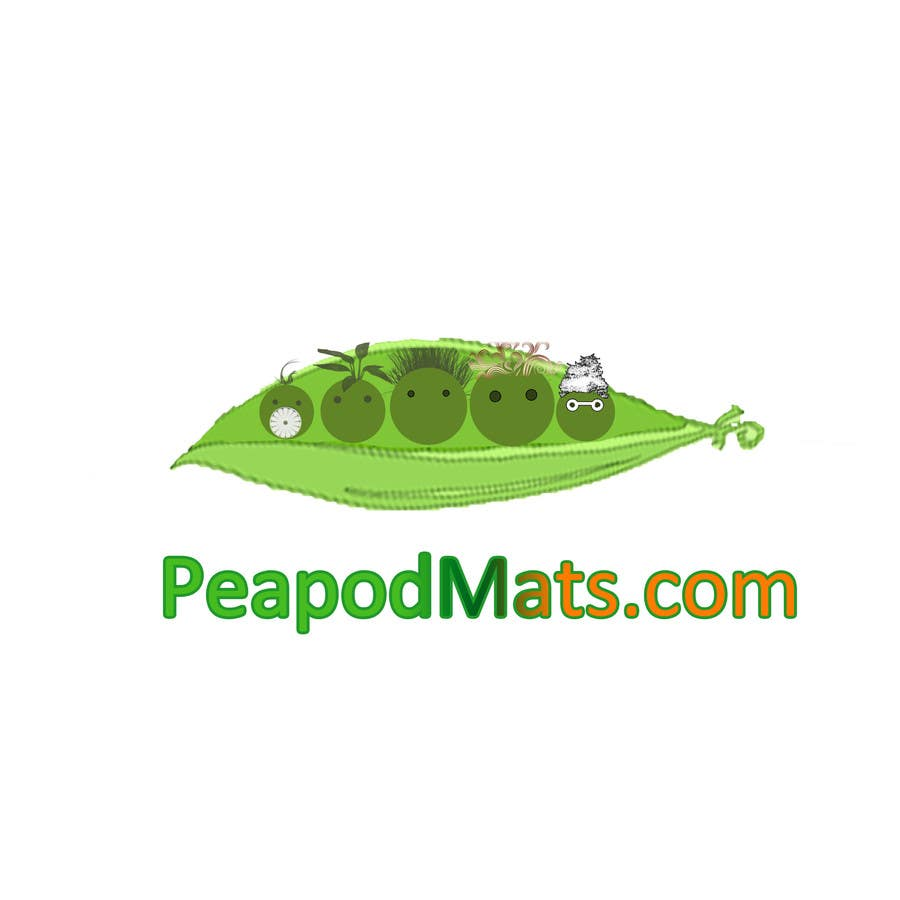 Proposition n°                                        31                                      du concours                                         Design a Logo for PeapodMats