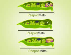 #34 for Design a Logo for PeapodMats af iftawan