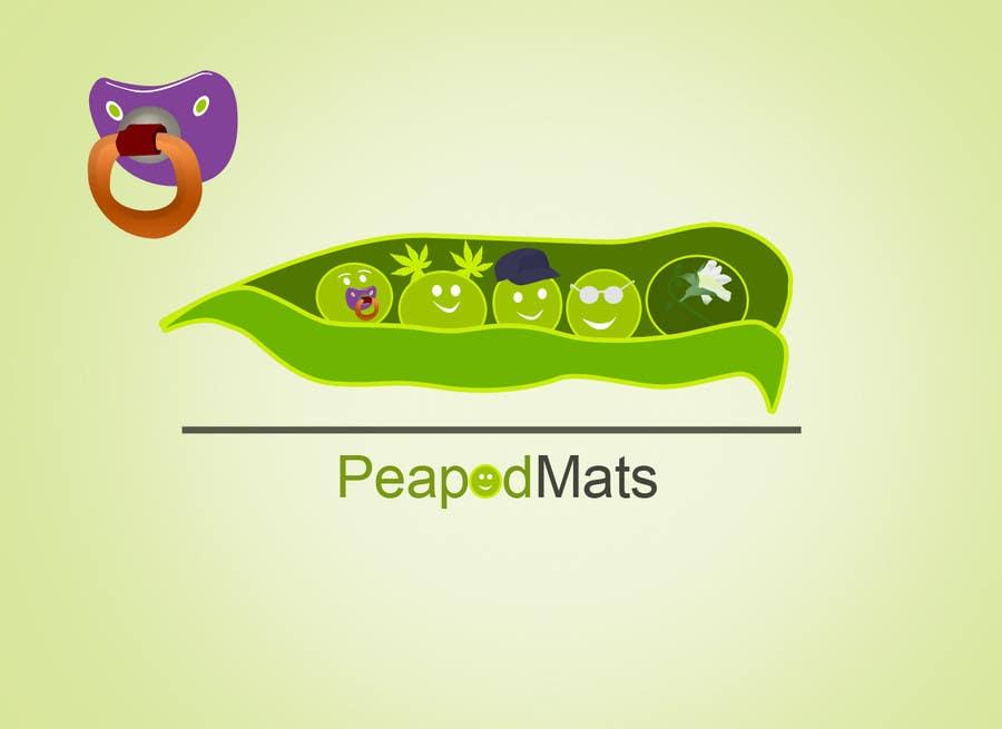 Proposition n°                                        42                                      du concours                                         Design a Logo for PeapodMats