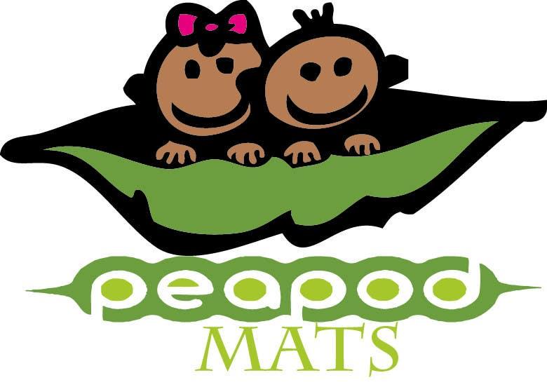 Proposition n°                                        38                                      du concours                                         Design a Logo for PeapodMats