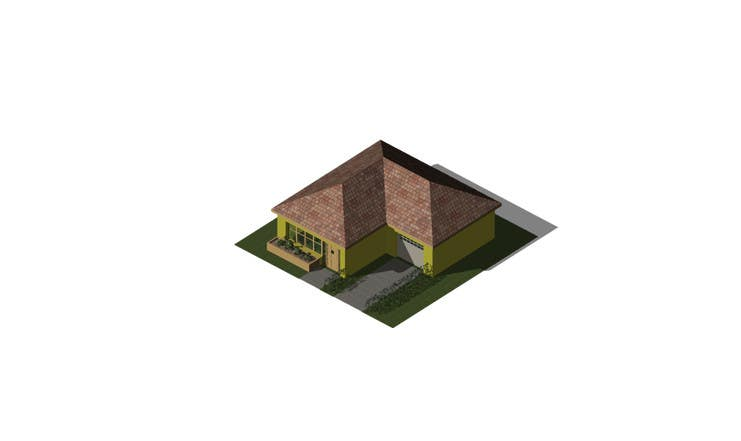 "Intrarea #14 pentru concursul ""100 isometric building designs for iPhone/Android city building game"""