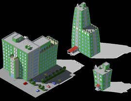 #2 for 100 isometric building designs for iPhone/Android city building game af Antir