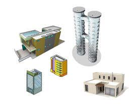 #26 for 100 isometric building designs for iPhone/Android city building game by TMDesigns110