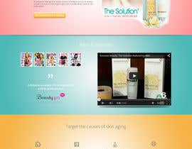 Dream0N tarafından Design a Skin Care Landing page for PPC campaign to collect leads için no 6
