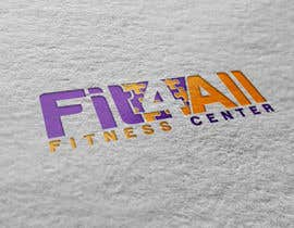 #150 untuk Fit4All Fitness center oleh eddesignswork