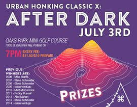 #37 for Design a flyer for the 10th annual Urban Honking Minigolf Classic by silvi86
