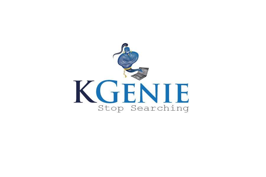 Konkurrenceindlæg #                                        469                                      for                                         Logo Design for KGenie.com
