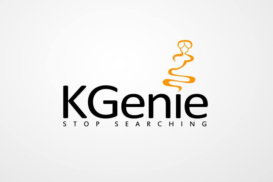 Konkurrenceindlæg #                                        561                                      for                                         Logo Design for KGenie.com