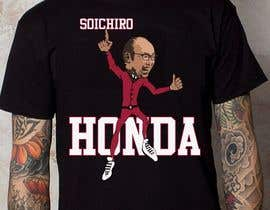 #40 untuk Design a vector graphic that celebrates Soichiro Honda. oleh sottosen