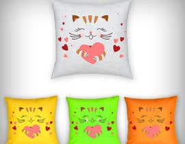 #13 untuk Print design on the cloth --cat toys square pillows oleh parikhan4i