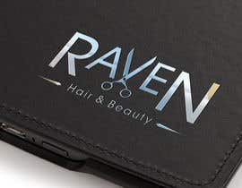 #68 untuk Design a Logo for Raven Hair & Beauty oleh maximchernysh