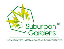 nm8 tarafından Logo Design for Suburban Gardens - A solar-powered, veteran owned indoor collective için no 77