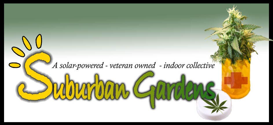 Konkurrenceindlæg #                                        81                                      for                                         Logo Design for Suburban Gardens - A solar-powered, veteran owned indoor collective