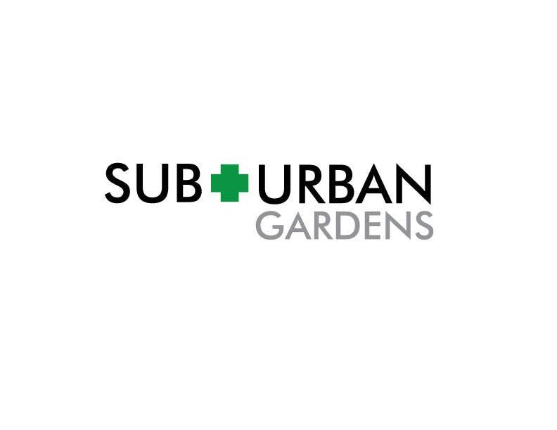 Contest Entry #                                        4                                      for                                         Logo Design for Suburban Gardens - A solar-powered, veteran owned indoor collective