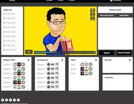 dani786 tarafından Design a Website Mockup for Video Analysis screen için no 6