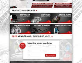 #19 para Design a Website Mockup for Autoworld por kash03vw