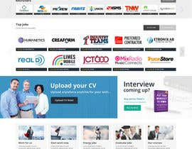 massoftware tarafından Design a Homepage for a Job Site için no 9
