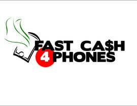 #88 dla Logo Design for Fast Cash 4 Phones przez Alexwells