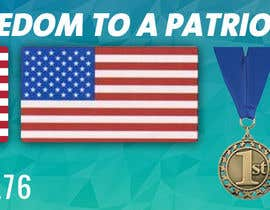 #10 cho Design a Banner for an American Themed Website bởi bellalbellal25