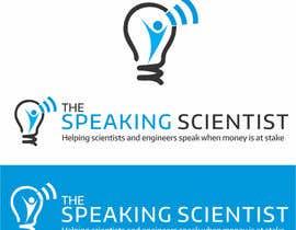 #142 para The Speaking Scientist's Logo por irfanrashid123