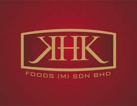 #335 for Logo Design for KHK FOODS (M) SDN BHD by innovys