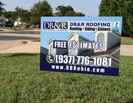 #24 cho Design a Yard Sign for a roofing company bởi teAmGrafic