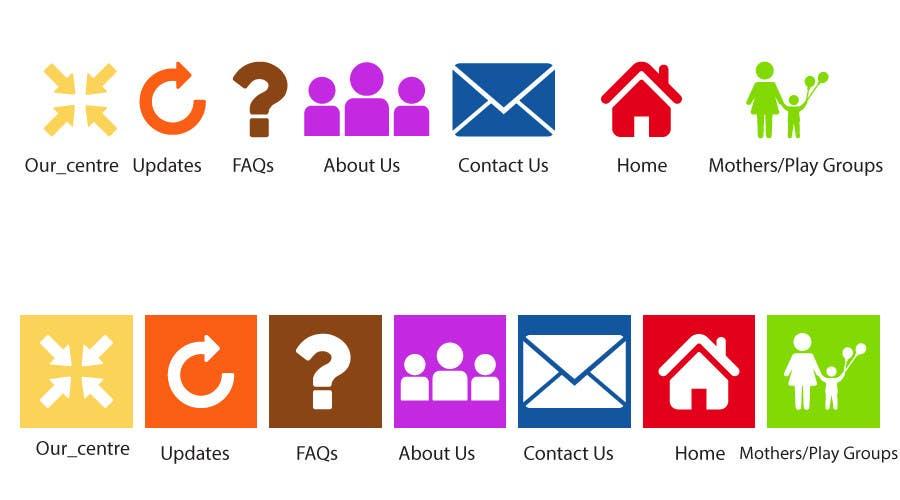 Penyertaan Peraduan #1 untuk Redesign some icons and supply PSD
