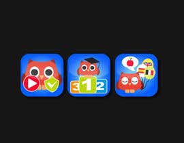 #15 for Re-Design 3 App Icons for App Stores af alexandracol